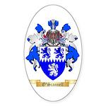 O'Scannell Sticker (Oval 50 pk)