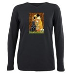 Flat Coated Retriever 1 - The Kiss Plus Size L
