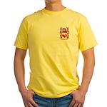 Osbourne (Irish) Yellow T-Shirt