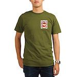 Osbourne (Irish) Organic Men's T-Shirt (dark)