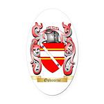 Osbourne (Irish) Oval Car Magnet