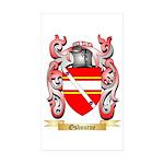 Osbourne (Irish) Sticker (Rectangle 10 pk)