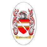 Osbourne (Irish) Sticker (Oval)