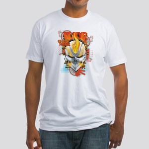Ghost Rider Pixel Fitted T-Shirt