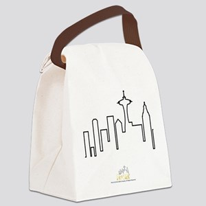 Frasier: Skyline Design Canvas Lunch Bag