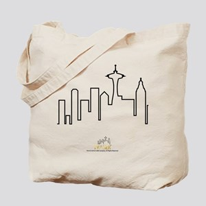 Frasier: Skyline Design Tote Bag