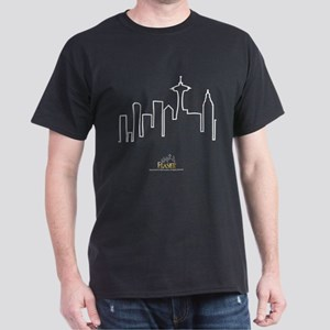Frasier: Skyline Design Dark T-Shirt