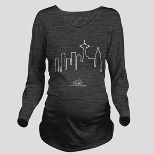 Frasier: Skyline Des Long Sleeve Maternity T-Shirt