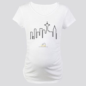 Frasier: Skyline Design Maternity T-Shirt