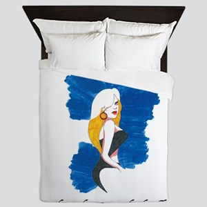 Blonde Bombshell Queen Duvet