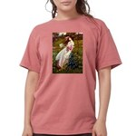 Flat Coated Retriever 2 - Windflowers.png Womens C