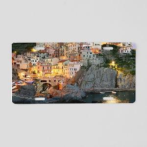 MANAROLA ITALY Aluminum License Plate