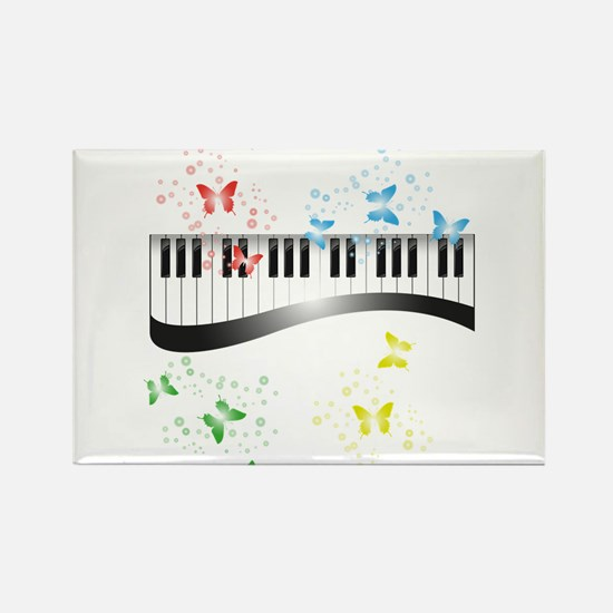 Butterfly piano music Magnets