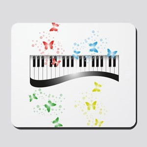 Butterfly piano music Mousepad