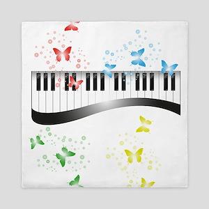 Butterfly piano music Queen Duvet