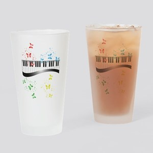 Butterfly piano music Drinking Glass