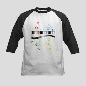 Butterfly piano music Baseball Jersey