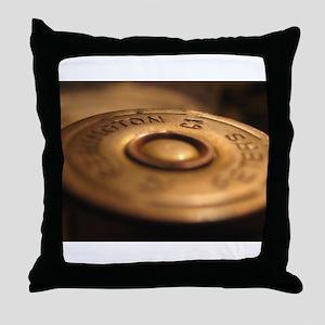 remmington 12 guage Throw Pillow