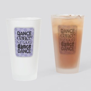Dance Purple Drinking Glass