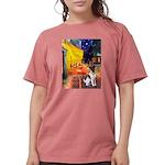 MP-CAFE-FoxT-1 Womens Comfort Colors Shirt