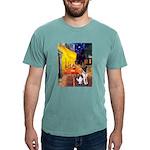 MP-CAFE-FoxT-1 Mens Comfort Colors Shirt
