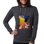 MP-CAFE-FoxT-1 Womens Hooded Shirt