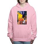 MP-CAFE-FoxT-1 Women's Hooded Sweatshirt