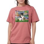 MP-LILIES2-FoxT-1 Womens Comfort Colors Shirt