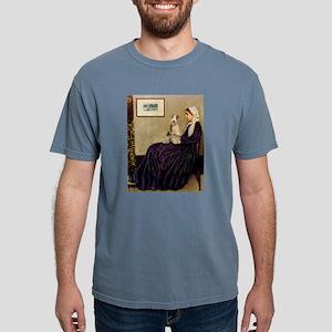 8x10-WMom-FoxT3 Mens Comfort Colors Shirt