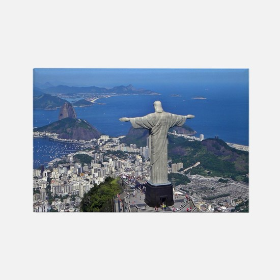 CHRIST ON CORCOVADO Rectangle Magnet