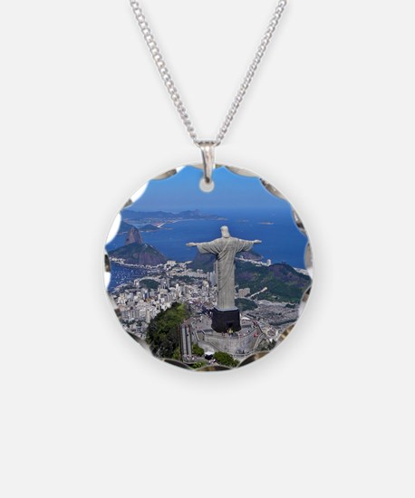CHRIST ON CORCOVADO Necklace
