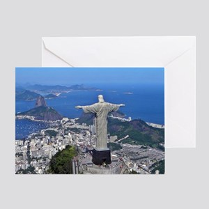CHRIST ON CORCOVADO Greeting Card