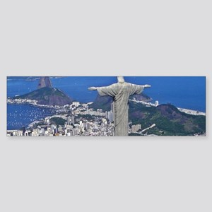 CHRIST ON CORCOVADO Sticker (Bumper)