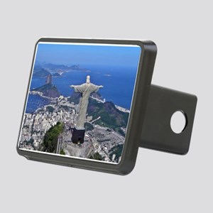 CHRIST ON CORCOVADO Rectangular Hitch Cover