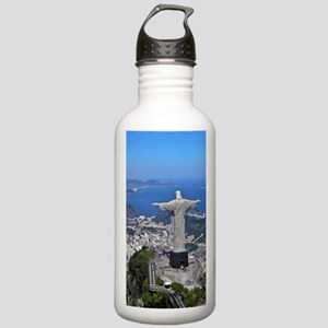 CHRIST ON CORCOVADO Stainless Water Bottle 1.0L
