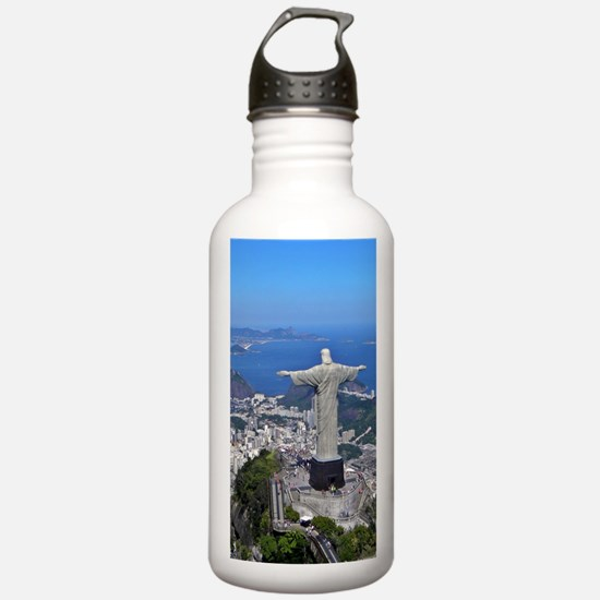 CHRIST ON CORCOVADO Water Bottle