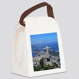 CHRIST ON CORCOVADO Canvas Lunch Bag