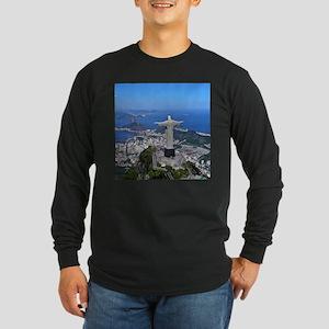 CHRIST ON CORCOVADO Long Sleeve T-Shirt