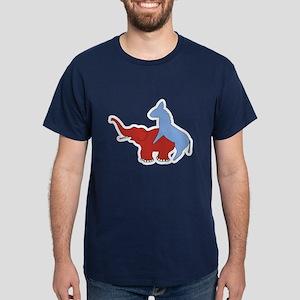 Fuck Republicans Dark T-Shirt