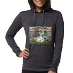 TR-Lilies2-FBD1-NF Womens Hooded Shirt