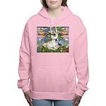 TR-Lilies2-FBD1-NF Women's Hooded Sweatshirt