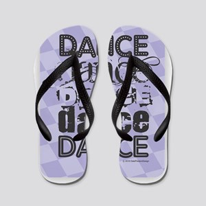 Dance Purple Flip Flops