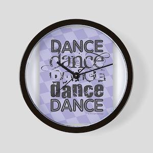 Dance Purple Wall Clock