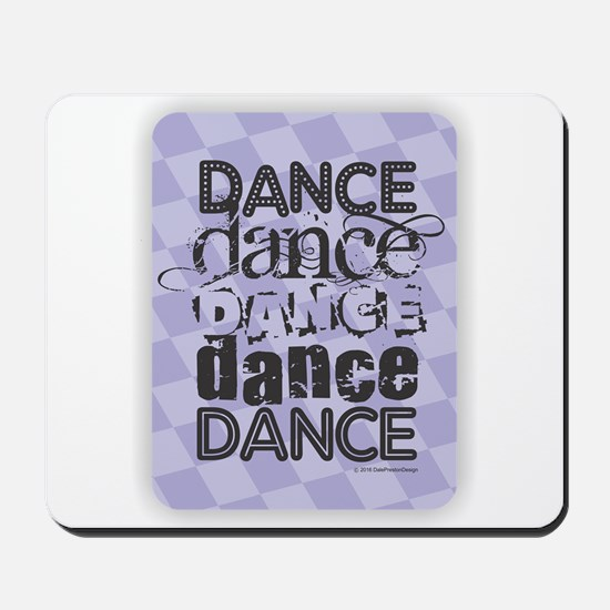 Dance Purple Mousepad