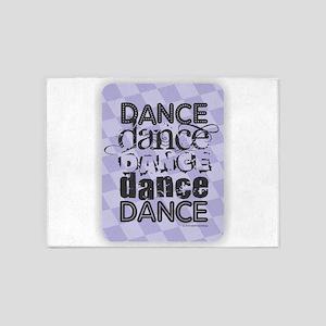 Dance Purple 5'x7'Area Rug
