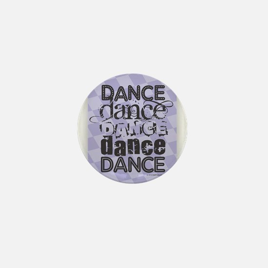 Dance Purple Mini Button