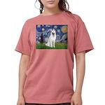 Starry-White German Shepherd Womens Comfort Colors