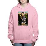 MP-MONA-GShep10 Women's Hooded Sweatshirt