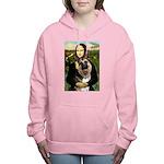 MONA-GShep9 Women's Hooded Sweatshirt