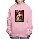 MP-ANGEL1-GShep9 Women's Hooded Sweatshirt